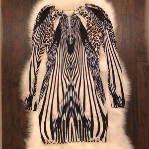 The Bebe animal print dress